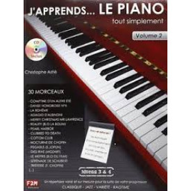 ASTIE - j'apprends le piano... VOL 2