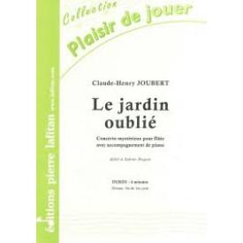 JOUBERT - Le jardin oublié - Flûte