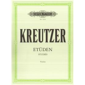 KREUTZER - Etudes pour violon