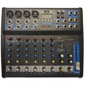 EK audio - Console 8 canaux + DSP KT 08UP