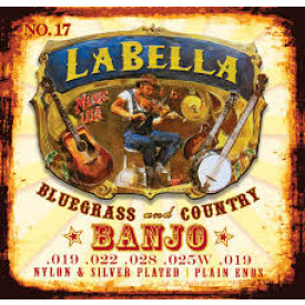 JEU LABELLA  BANJO 5 CORDES MEDIUM 10/22