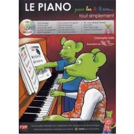ASTIE - le piano pour les 5/8 ans...