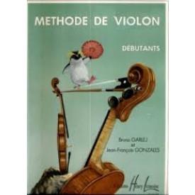 Méthode de violon débutant de Garlej