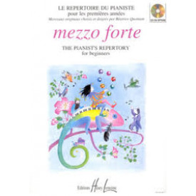 Le Répertoire du pianiste - Mezzo Forte