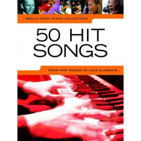 50 HIT SONGS - Piano facile