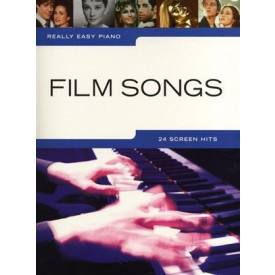 FILM SONGS - Piano facile