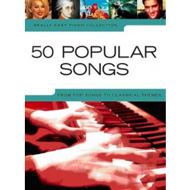 50 POPULAR SONGS - Piano facile