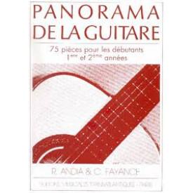 PANORAMA DE LA GUITARE  1