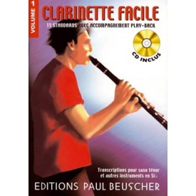 CLARINETTE FACILE - Volume 1
