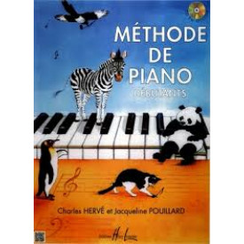 METHODE DE PIANO - POUILLARD
