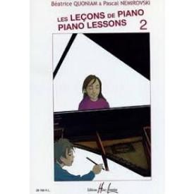 LES LECONS DE PIANO 2