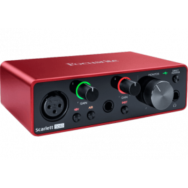 FOCUSRITE - Interface - Scarlett3 Solo