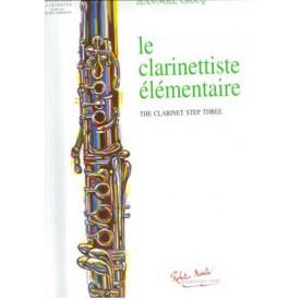 CROCQ - Le clarinettiste élémentaire
