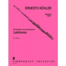 KOHLER FLUTE OPUS 93 vol 1